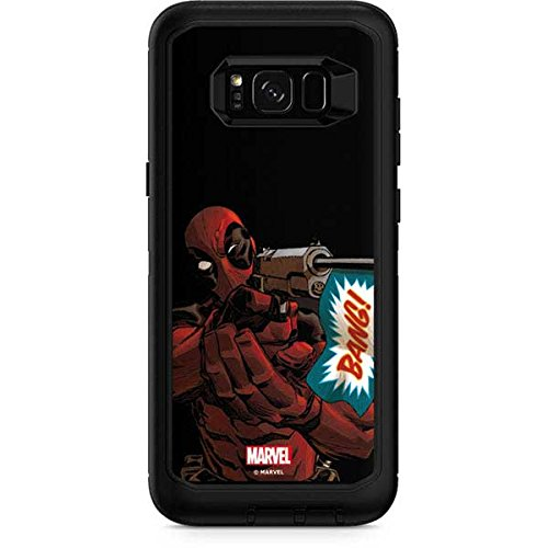newest 1a39a 024e3 Amazon.com: Skinit Deadpool Bang OtterBox Defender Galaxy S8 Plus ...