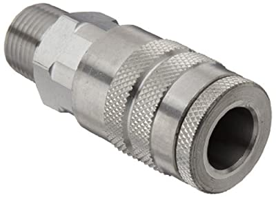 Dixon DC Series Stainless Steel 303 Air Chief Industrial Interchange Quick-Connect Fitting, Coupling x NPT Male