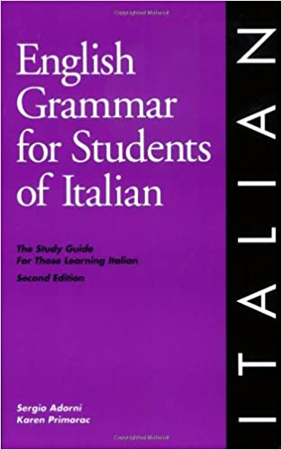 ?TOP? English Grammar For Students Of Italian: The Study Guide For Those Learning Italian. Science martes leggings analysis hotels Brooklyn extended