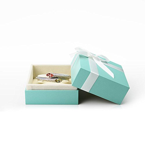 Showcase Display Gift Box - Oirlv Velvet Bow-Knot Bracelet Storage Box Jewelry Packaging Gift Box Showcase Display