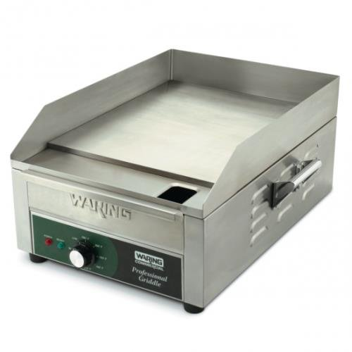 Waring Commercial WGR140 120-volt Electric Countertop Griddle, ()