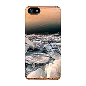 Premium Tpu Crushed Ice Cover Skin For Iphone 5/5s
