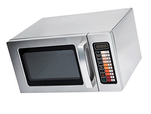 Microwave Special Offer Stainless Steel Microwave with Push Button Control Now on Sale Price for a limited time only (Stainless Steel, 0.9 cu. ft 1000W) by Sol-Wave