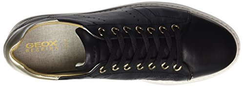Geox D Thymar a, Zapatillas para Mujer Negro (blackc9997)