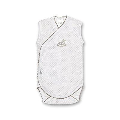 Bimbi c030605110–Pack de 2Bodies Motif Dots, couleur blanc et lin