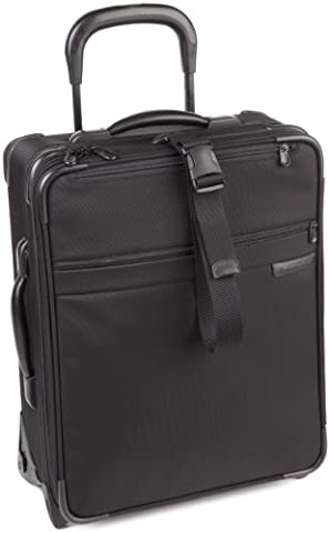 Briggs & Riley 20 Inch Carry-On Expandable Wide-Body Upright,Black,20x16x8 - 8 Suiter