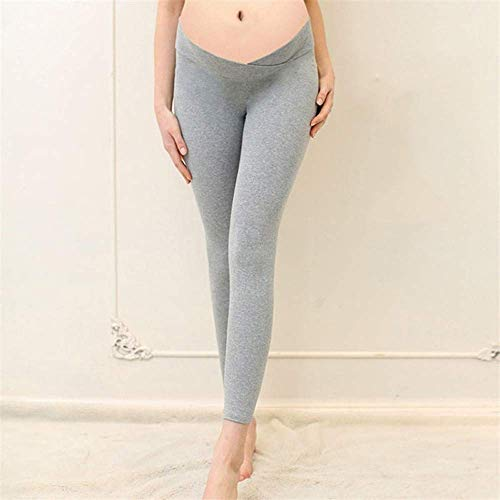 Leggings Fashion Chic Pantaloni Gravidanza Per Di Elasticizzati Grigio Maternità Hx I Vestiti Ragazza 48zdxq