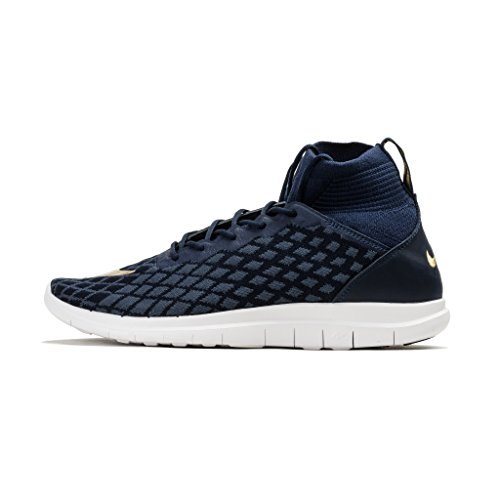clearance clearance store NIKE Free Hypervenom 3 FC FK Mens Soccer-Shoes 898029 Navy/Gold cheap buy authentic sale with credit card cpg6o8FVUW