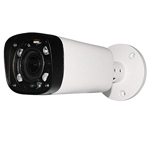 (4MP Outdoor Bullet POE IP Camera, IPC-HFW4431R-Z, 2.7-12mm Motorized Varifocal Lens 4X Optical Zoom, Security Network CCTV Camera, 262ft IR Night Vision, Smart H.265+, WDR DNR, IP67, Onvif)