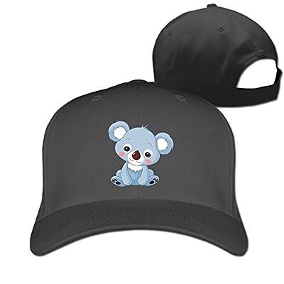 Koala Designer Trucker Cap Peaked Hat Unisex Baseball Hats