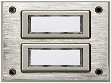 REV Ritter 003043208 con 2 pulsanti Campanello a muro Quattroline