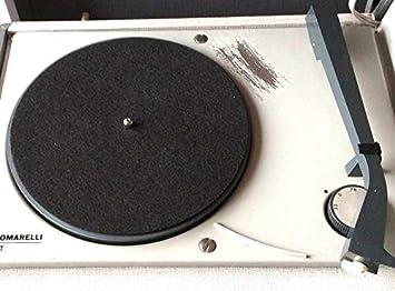 Slipmat-Alfombrilla para tocadiscos-Discos-45 revoluciones: Amazon ...
