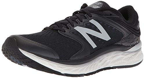New Balance Men's 1080v8 Fresh Foam Running Shoe, Black/White, 13 4E US