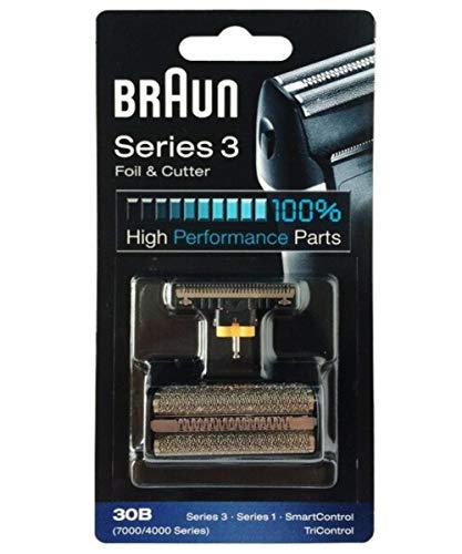 Genuine Braun 30B 7000 / 4000 Series 3 Syncro Shaver / Razor Foil + Cutter COM491