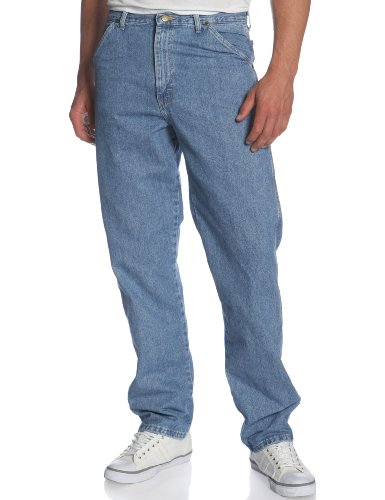 Wrangler Men's Big Rugged Wear Carpenter Jean ,Vintage Indigo,46x30 (Carpenter Jeans Wrangler Men)