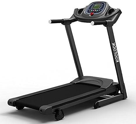 Cinta de correr electrica KooLook XYP8012 - 1.75 HP: Amazon.es ...