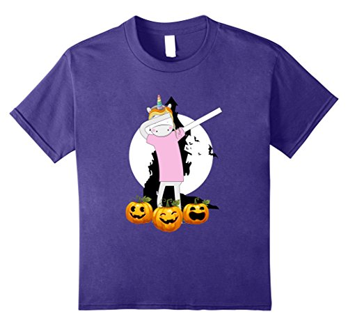 3t-4t Why Costume Super (Kids Dabbing Unicorn With Pumpkin Faces Hip Hop Halloween Tshirt 10)