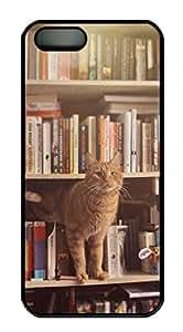 Cute Cat-3 Sakuraelieechyan Iphone 5/5S Hard Shell Black Sides Case