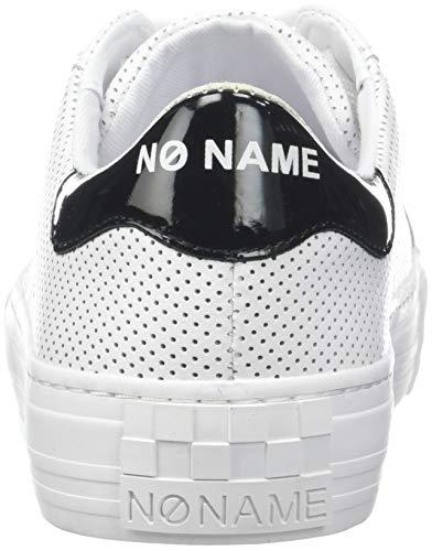No Punch Baskets white Name Sneaker White 01 Femme Arcade Nappa Blanc Fox rttXq8