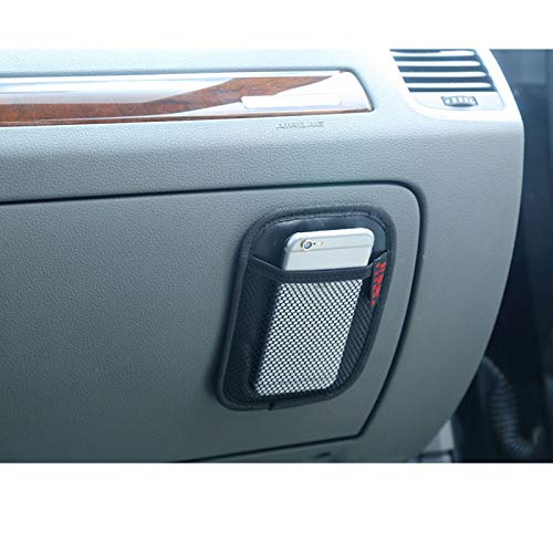 Leoie Rete portaoggetti per Auto Tasca Organizer Accessori Interni per Car Organizer Oxford Cloth Black Small