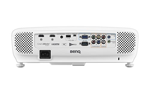 BenQ DLP HD 1080p Projector (HT2050) - 3D Home Theater Projector with All-Glass Cinema Grade Lens and RGBRGB Color Wheel by BenQ (Image #1)'