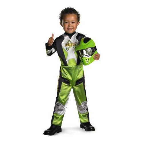(Disguise Lil' Motocross Rider Boys Costume,)