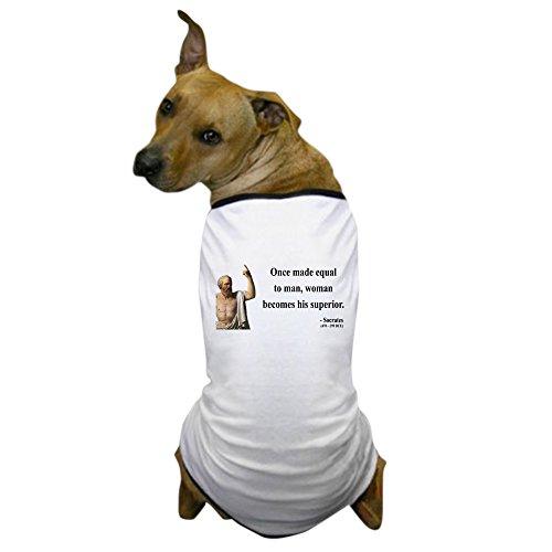 CafePress - Socrates 13 Dog T-Shirt - Dog T-Shirt, Pet Clothing, Funny Dog (Socrates Costume)