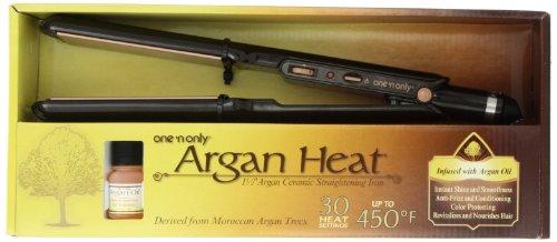 Only Argan Ceramic Straightening Inches