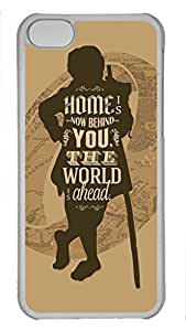 iCustomonline The Hobbit Custom Transparent Plastic Hard Back Cover for ipod touch 4 touch 4