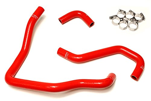 HPS 57-1430-RED-2 Red Silicone Heater Hose Kit (Coolant) by HPS (Image #2)