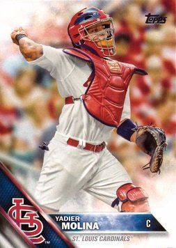 Amazoncom 2016 Topps 134 Yadier Molina Baseball Card