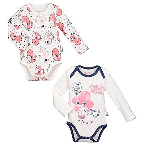 Lot de 2 bodies bébé fille manches longues Maronette - Taille - 3 mois (62 6e32c3edff2