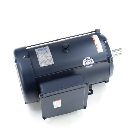 Leeson Electric 140678.00 - General Purpose Motor - 1 ph, 10 hp, 1800 rpm, 230 V, 215TC Frame, Totally Enclosed Fan Cooled Enclosure, 60 Hz, Rigid base -