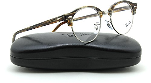 Ray-Ban RX4246V Club-Round Unisex Eyeglasses RX-able 5749, - Ban Ray Clubround Optics