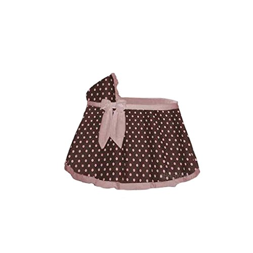 Babydoll Cocoa Pink Dot Bassinet Set