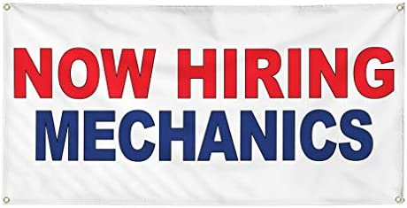 NOW HIRING Advertising Vinyl Banner Sign Many Sizes Available USA Customize it!