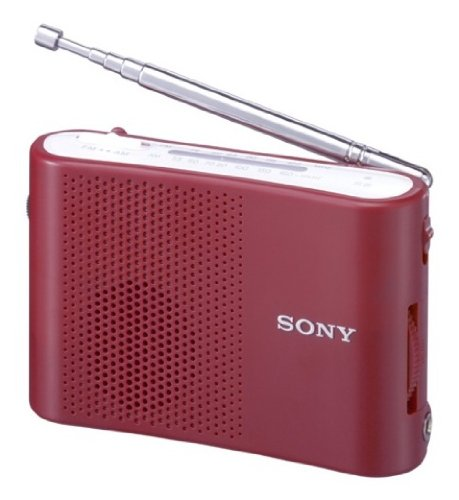 SONY FM / AM Handy Portable Radio ICF-51/R (japan import)