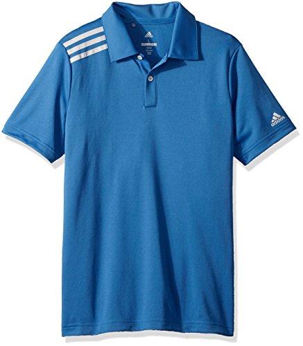 - adidas Golf 3-Stripe Tournament Polo, Trace Royal, Medium