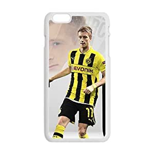 Cool Painting Borussia Dortmund: Marco Reus Phone Case for Iphone 6 Plus