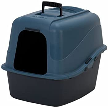 Petmate 22026 Jumbo Hooded Litter Pan,Assorted Colors