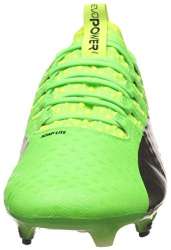 Puma Mannen Evopower Kracht 1 Fg Voetbalschoenen Groen (groene Gekko-puma Zwart-gele Veiligheid 01)