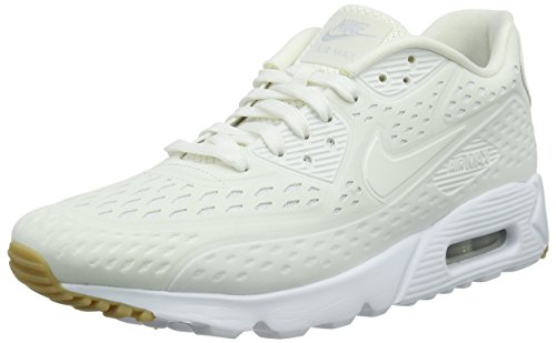 nike air max 90 ultra BR mens trainers 725222 sneakers shoes (uk 9 us 10 eu 44, summit white pure platinum 100)