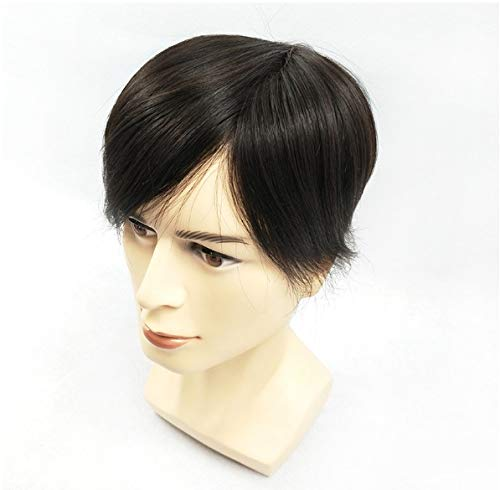 Donghechengkang メンズウィッグ、男性用ショートヘアウィッグ B07Q72SGMP
