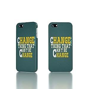 Apple iPhone 5 / 5S Case - The Best 3D Full Wrap iPhone Case - Change