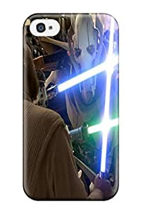 Cute Appearance Cover/tpu WcPFamx844OryfS Star Wars Case For Iphone 4/4s