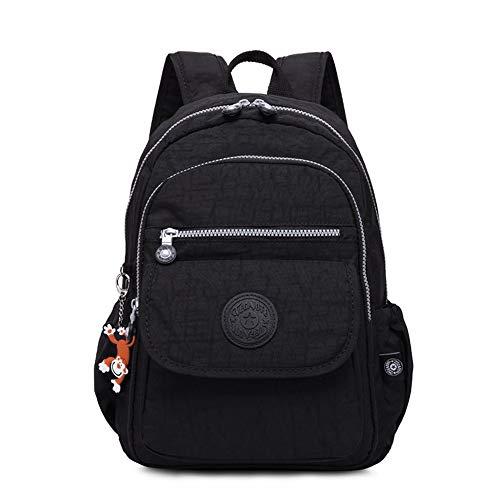 Ordinateur Léger Étanche Casual Noir Dos À Portable Hommes Sac Schoolbag Daypack Voyage Femmes Nylon En p1WCTwSR