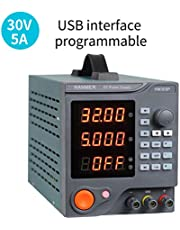 Programmable DC Power Supply (0-30 V 0-5 A) HANMATEK HM305P Variable Switching Digital Power Supply with PC Software and USB Interface