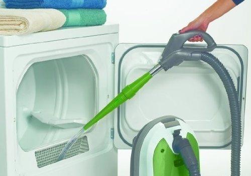 Dryer Vent Lint Vacuum Departure Attachment