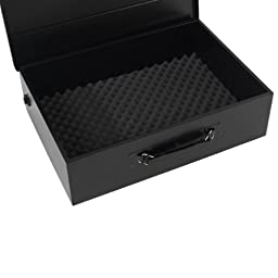 First Alert 3035DF Deluxe Digital Security Box, Black/Silver