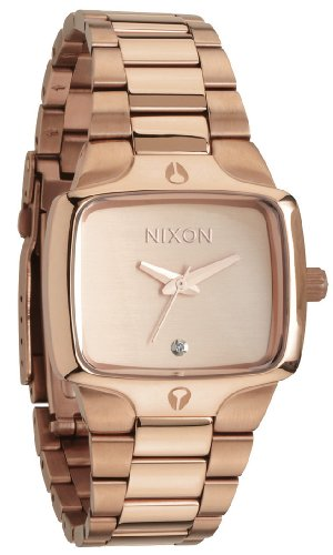 Nixon Rose Gold-tone Stainless Steel Ladies Watch A300-897